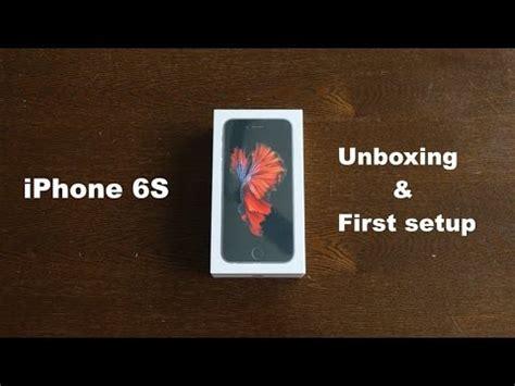 iphone  unboxing  setup youtube