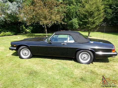 jaguar cars 1990 1990 jaguar xj s convertible auto black