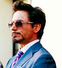 iron man film tony stark hair styles robert downey jr gif find share on giphy