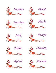 microsoft office thanksgiving place cards template free downloadable printable thanksgiving menu