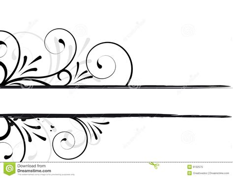cornici per testo cornice di testo floreale fotografia stock libera da