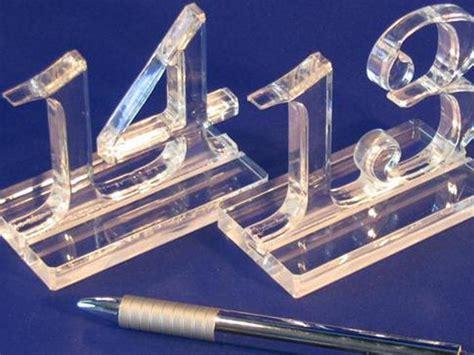 numeri tavoli ristorante accessori in plexiglass per bar e ristoranti oggetti