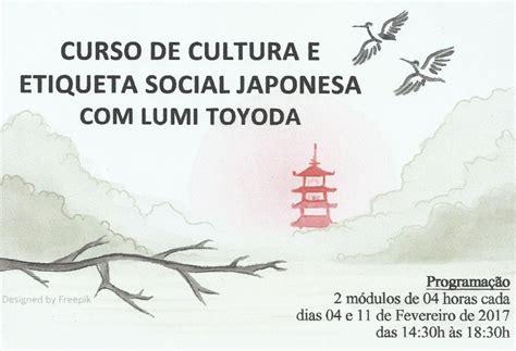 cultura si鑒e social curso de cultura e etiqueta social japonesa made in