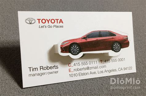 toyota business card template luxury car business cards gallery card design and card