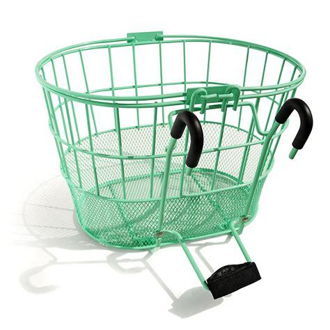 basket for bike 9 best bike baskets for 2018 front and rear baskets for bikes