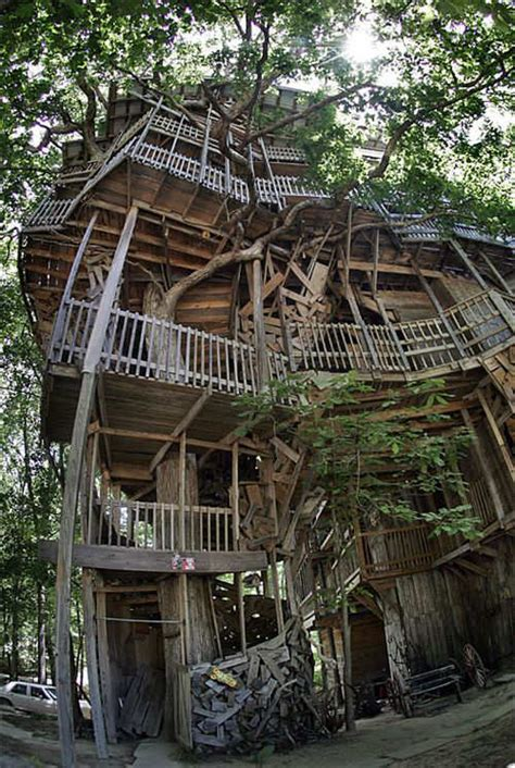 Largest House In The World by The Largest Tree House In The World