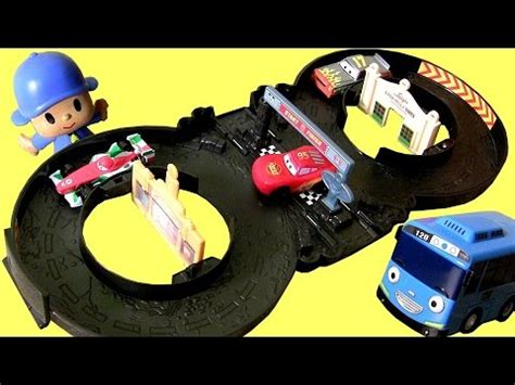 cars fold out radiator springs track playset new disney