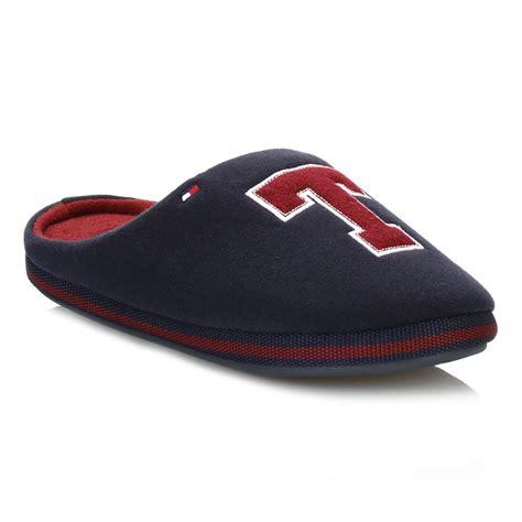 hilfiger slippers for hilfiger mens midnight c2285orwall id slippers