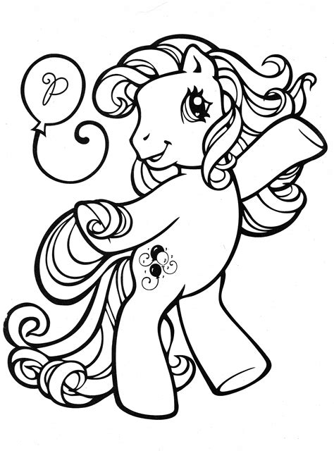 pony coloring my pony coloring page mlp pinkie pie color