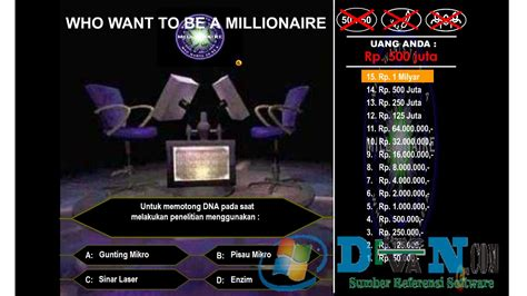 flash quiz template free who wants to be a millionaire template