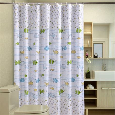 Fish Shower Curtains Compare Prices On Fish Shower Curtain Fabric Shopping Buy Low Price Fish Shower Curtain