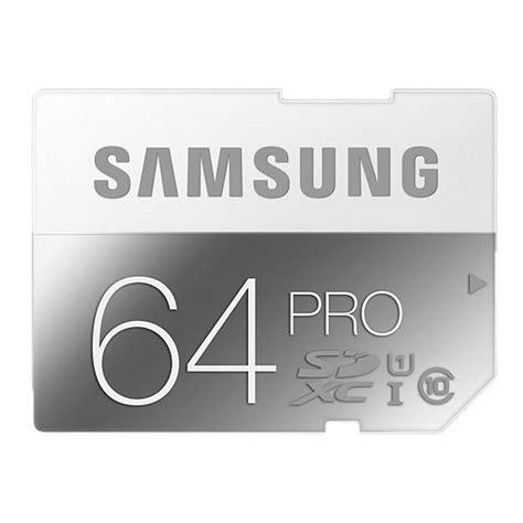 Samsung Microsd Pro Class 10 Uhs I 64gb 90 Mbps samsung sdxc pro 64gb class 10 uhs i tarjeta