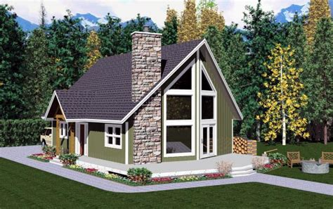 A Frame Home Plans House Plan 99946 At Familyhomeplans