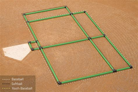 batters box template field marking batter s box template 3 way