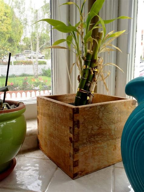 ikea wooden planter box gets simple mod makeover homejelly