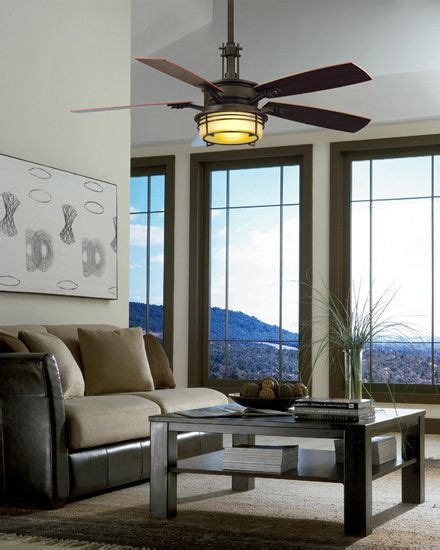 Fanimation Andover Ceiling Fan by Fanimation Fp5220ob Andover Rubbed Bronze 54 Quot Ceiling