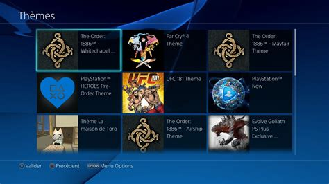 ps4 themes site supprimer theme ps4 4 th 232 mes playstation