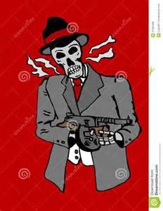 Gangsta Shi R T Mn gangster skull with bandana www pixshark
