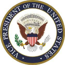 the seal and flag of the vice president of the united