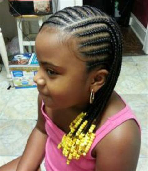 Girl Hairstyles With Beads | 1000 images about braids beads and bows for little girls