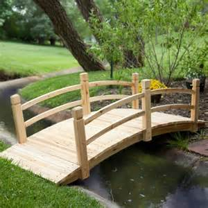 coral coast harrison 6 ft wood garden bridge garden bridges at hayneedle