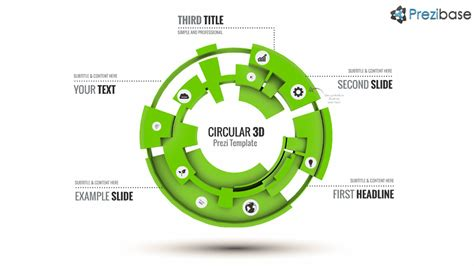 prezi templates 3d circular 3d prezi template prezibase