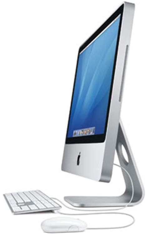 apple computer desk top imac quot 2 duo quot 2 4 20 inch early 2008 specs early