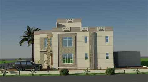 home decor 3d 3d front elevation design by faisal hassan