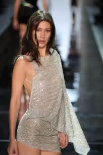 hadid at alexandre vauthier fashion show at paris