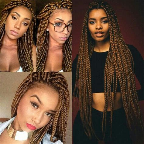 gold on top red on bottom box braids 122 best images about hair if you dare on pinterest max