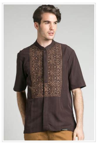 Baju Muslim Pria Alutfi Jumbo 2 jual foto model baju muslim batik simple dan elegan busana