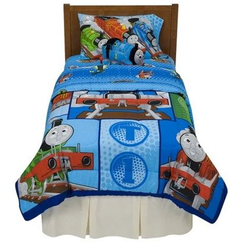 thomas the train twin bed thomas the train track star microfiber comforter blue