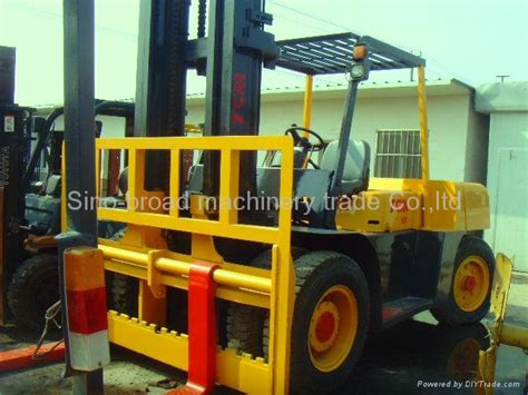 used forklift tcm 10t china trading company second