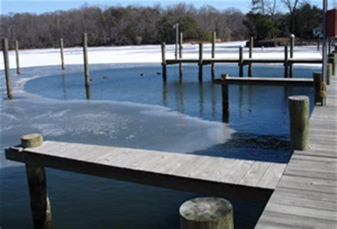 boat dock ice eater ice eater 174 dock deicer bubbler systems