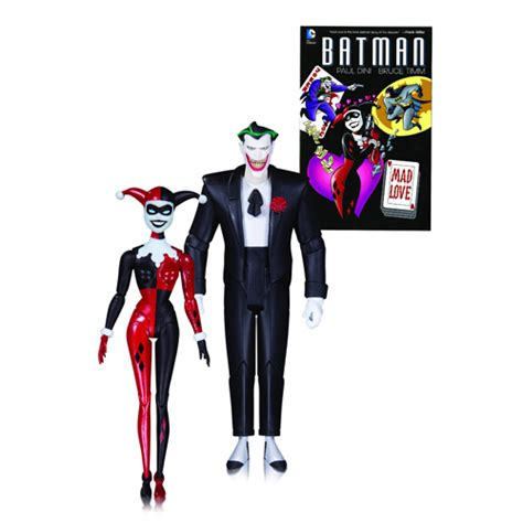 Tas Bonia Original Special Edition Croco 2 batman joker and harley quinn figures