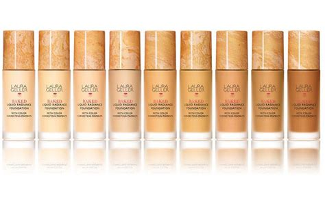 laura geller cover foundation swatches laura geller baked liquid radiance reviews photo