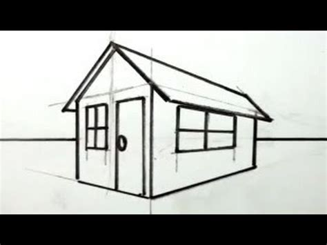 how to draw a house in 3d for easy things to draw