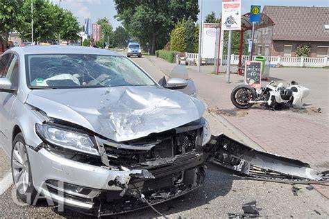 Motorrad Fahren Nach Unfall by Motorradfahrer Nach Unfall Schwer Verletzt General Anzeiger