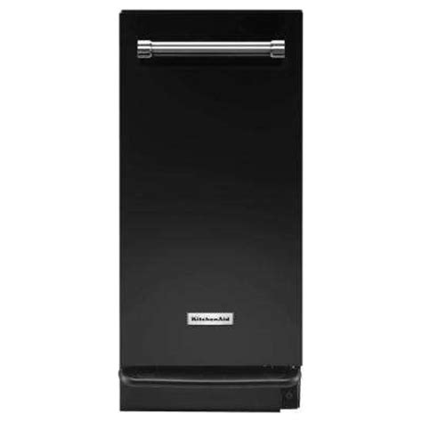 mtuc7500afb maytag 15 quot built in trash compactor black on black trash compactors dishwashers the home depot