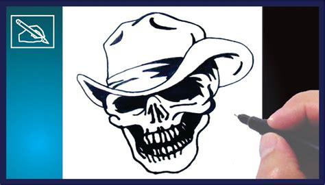 imagenes de calaveras y calabazas c 243 mo dibujar una calavera con sombrero how to draw a