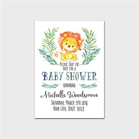 save the date templates for baby shower 8 best baby shower save the date design images on