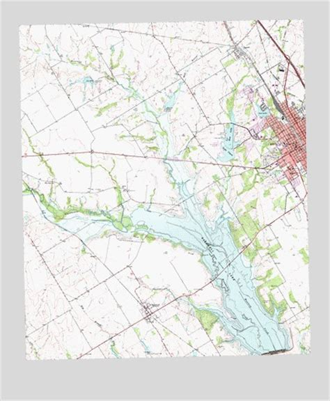 ennis texas map ennis west tx topographic map topoquest