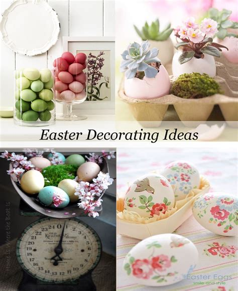 easter decorating ideas for the home decorating with easter eggs