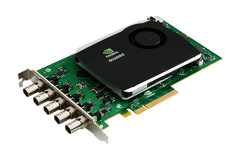 how to make a capture card nvidia 174 quadro 174 sdi capture card enables uncompressed