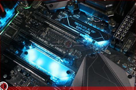 Asus Maximus Ix Apex asus rog maximus ix apex motherboard review lighting
