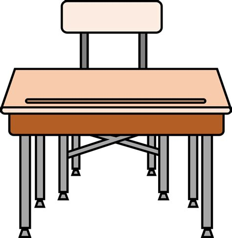 Clipart Empty Student S Desk Student In Desk Clipart