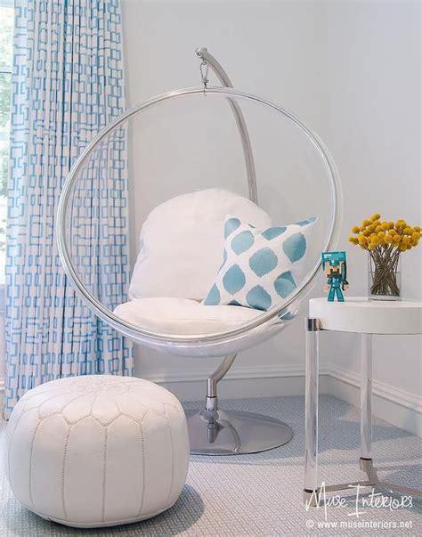 indoor hanging chairs for bedrooms eero aarnio hanging bubble chair indoor or outdoor stand