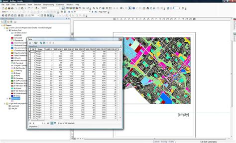 arcgis layout dynamic table arcgis desktop why is the dynamic text on data driven