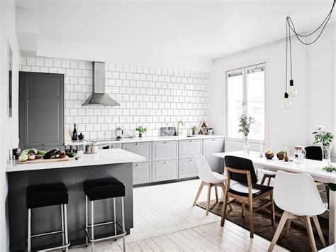 Scandinavian interior design trends with a nice colorful addition