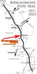 florida rails to trails map withlacoochee rails to trails bike trial withlacoochee